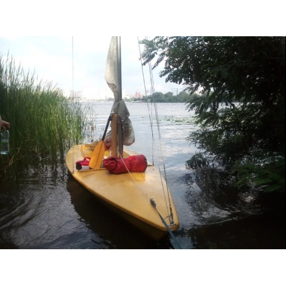 Яхта-швертбот Луч-2