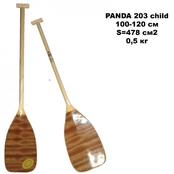 Весло PANDA 203 child